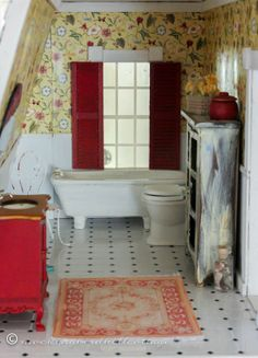 :: MHC--Doll House-- bathroom... finding Hobby inspiration here! ::   fridaydhtoilet3
