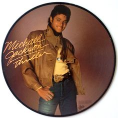 Michael Jackson - Thriller Picture Disc LP Vinyl Record Album, Epic - 8E8-38867, 1983, Original Pressing
