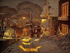 Ричард Савойя (Richard Savoie) — талантливый канадский художник, создающий работы в технике пастель.   Источник: https://www.adme.ru/tvorchestvo-hudozhniki/15-kartin-napolnennyh-uyutom-zimnego-vechera-1190860/ © AdMe.ru  15волшебных картин вместо тысячи психологов