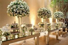 Discover thousands of images about Casamento na IPJO e Mediterraneo Passalaqua Wedding Centerpieces, Wedding Table, Our Wedding, Dream Wedding, Wedding Decorations, Table Decorations, Wedding Themes, Wedding Designs, Wedding Colors