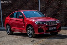 BMW X4 xDrive35i M Sport Package in Melbourne Red