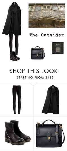 """solitude"" by aliceingothland ❤ liked on Polyvore featuring J Brand, Alexander Wang, V AVE SHOE REPAIR, Coach and Issey Miyake"