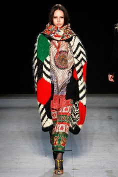 Look 49 Libertine Fall 2013 #NYFW