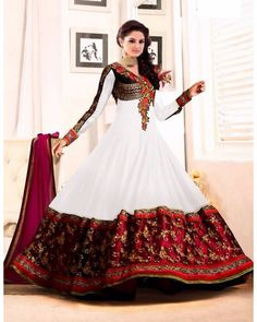 Indian Bollywood Anarkali Salwar Kameez Designer Straight Pakistani Dess Suit #SKPD #AnarkaliStyle