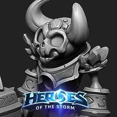 Ragnaros and LilRag, Jarred Everson Heroes Of The Storm, 3d Character, Rocks, Artwork, Modeling, Fun, Fictional Characters, Clay, Work Of Art