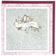 Owls special mum large birthday card