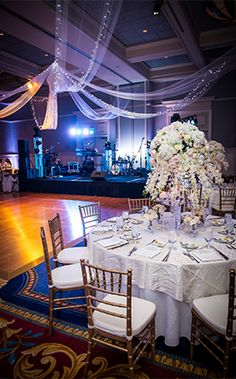 We Are Loving The Decor Of Pascale And Matts Wedding Reception At Walt Disney World