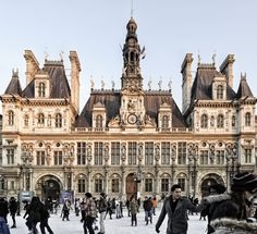 Place de l'Hotel de Ville, Paris, France
