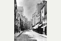 Petty Cury, before Victorian redevelopment Cambridge Pubs, Victorian, Memories, Abstract, Artwork, Memoirs, Summary, Souvenirs, Work Of Art