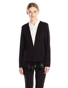 Madison Marcus Women's Feather Jacket for only $151.00