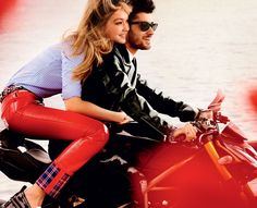 Gigi and Zayn's Romantic Vogue Shoot Is #RelationshipGoals via @WhoWhatWear