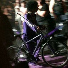 Prince at the Oracle Arena  March 2016