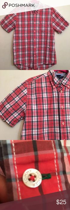Tommy Hilfiger Button Down Shirt Size Large Great condition! Tommy Hilfiger Shirts Casual Button Down Shirts