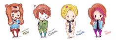 DeviantArt: More Like .: Pewds, Cry, Minx, and Ken THE TEAM :. by ...