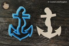 Nautical Rose Anchor Cookie Cutter