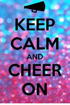 Cheer is my life and cheer is my prioridy