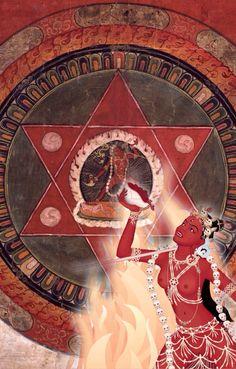 Vajrayogini - Sarva Buddha Dakini Yogini