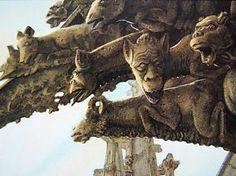 Rare John Howe Fantasy Art Print SIGNED - gothic castle illustration