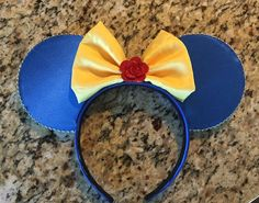 Beast Inspired Minnie Ears beauty and the beast by MouseBands