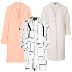Spring Coats 101: The 4 Pieces You Need Now  #InStyle