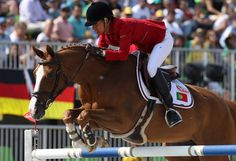 SPORTS And More: #Portugal #Equestre #Rio 2016 Luciana Diniz finish...