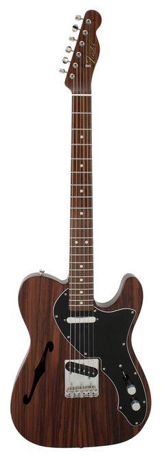 Fender Custom Shop 60s Rosewood Telecaster Thinline Master Built Paul Waller   Rainbow Guitars