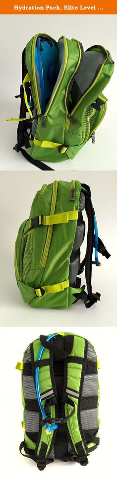 Hydration Pack, Elite Level Performance for Hiking & Adventure Racing. 2L Bladder Included - 30L of Separate Storage. Backwoods Equipment Company believes that the best life a person can live is one spent on a never-ending pursuit to explore the great outdoors. Our top of the line products are here to make your journey as comfortable and attainable as possible. Our Hydration Pack was created with precision and care, and to never fail when you need it most - in the field.