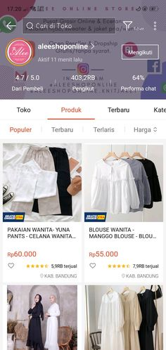 Best Online Clothing Stores, Online Shopping Stores, Online Shop Baju, Aesthetic Shop, Casual Hijab Outfit, Hijab Fashion Inspiration, Ootd, Kpop Fashion Outfits, Shops