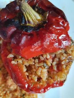 Cookbook Recipes, Cooking Recipes, Greek Gyros, Yams, Greek Recipes, Meatloaf, Sweet Home, Food And Drink, Stuffed Peppers