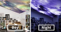 Transform Your Home With Glow-In-The-Dark Prints - My goal is to create unique spaces and rooms giving them an identity and a soul, where relaxing and living become an experience, the artist told Bored Panda.