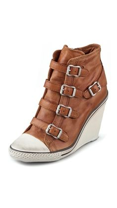 best value 14ca8 dcba8 Ash Thelma Wedge Sneakers Ash Sneakers, Wedge Sneakers, Brown Shoe, Shoes  Online,