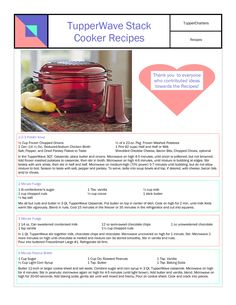 tupperwave stack cooker - Google Search