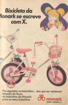 Bicicleta Monark da Xuxa (1989)