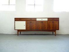 Stunning Danish SIDEBOARD / Cabinet * Teak Rosewood Vintage Retro Upcycled   eBay