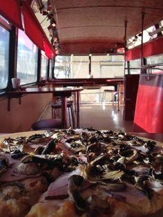 AFAR.com Highlight: Have pizza – on a double decker bus by Emma John