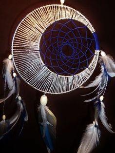 Diy Dreamcatcher / Dream Catcher-Custom Moon Motions Signature Silver Ringed