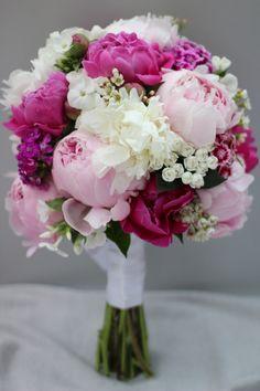 Brautstrauß * Bridal Bouquet * Hochzeit * Wedding * Pink * Rosa * Peonies * Pfingstrosen