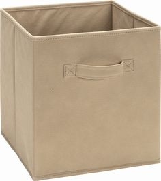 Dorel Home Furnishings Storage Fabric Bin Multiple Colors, Purple