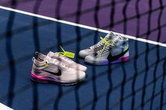 Serena Williams Off-White Nike Blazer Air Max 97 NikeCourt Flare Virgil Abloh Queen Collaboration White C, Off White, Shoe Image, Fashion Beauty, Womens Fashion, Serena Williams, Air Max 97, White Nikes, Workout Gear