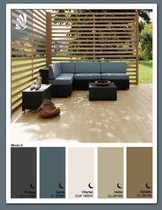 Villeroy & Boch tile for an outdoor patio. Blends beautifully with so many home styles and less maintenance than wood.