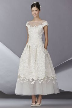 37 Designer Wedding Dresses for Fall 2014 - Couture Wedding Dress Designers - Harper's BAZAAR
