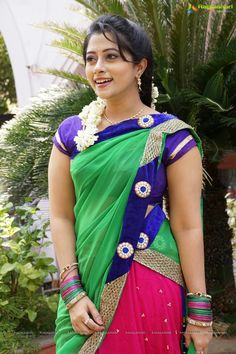 It's time you had one Classic Sari Blouse Click above VISIT link for more - Saree Blouses Bollywood Actress Hot Photos, Beautiful Bollywood Actress, Most Beautiful Indian Actress, Beautiful Actresses, Beautiful Heroine, South Indian Actress Photo, Floral Print Sarees, Beautiful Women Over 40, Indian Bridal Fashion