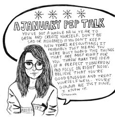 A January Pep Talk. <3 #inspirational #SelfCare #quote