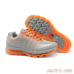 sports shoes e5b5d 0e8c6 Nike air max 95 360 gray and orange mens shoes for sale