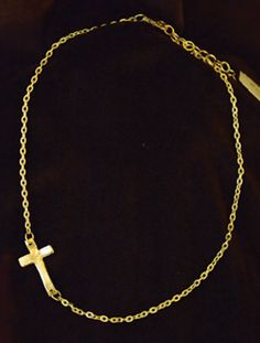 Bookstore: Featured items (Jan-Feb) Golden Necklace: Handmade cross necklace, 18k gold pl {$25.99} (shipping costs apply) | Incarnation Bookstore: 214.522.2815