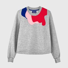 This Öst is part of a collaboration with the concept store Superchérie. This model is a limited edition. The concept behind it is and for this season Superchérie have decided to make red and pink the main colors.