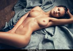 Image. Karolina Szymczak - naked brunette with big natural boobies picture