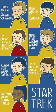Star Trek Quotes.
