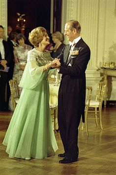 """""""First Lady Betty Ford and Prince Philip dance"""""""