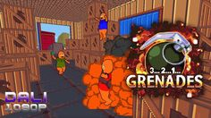 3..2..1..Grenades! Never bring a grenade to a snowball fight! That is unless you're needed to save Grenades Co. from horrible aliens! Battle by yourself or bring along up to four grenade-mad friends in the frantic FPS 3..2..1..Grenades! #321Grenades #savethejets #FPS #indiegame #Steam #YouTube